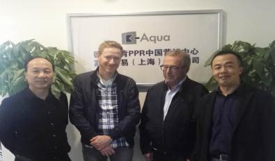 德国贝肯K-Aqua董事总经理及营销总监来华进行中国市场考察